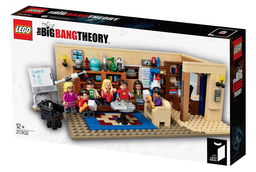 LEGO Ideas 21302 The Big Bang Theory Box