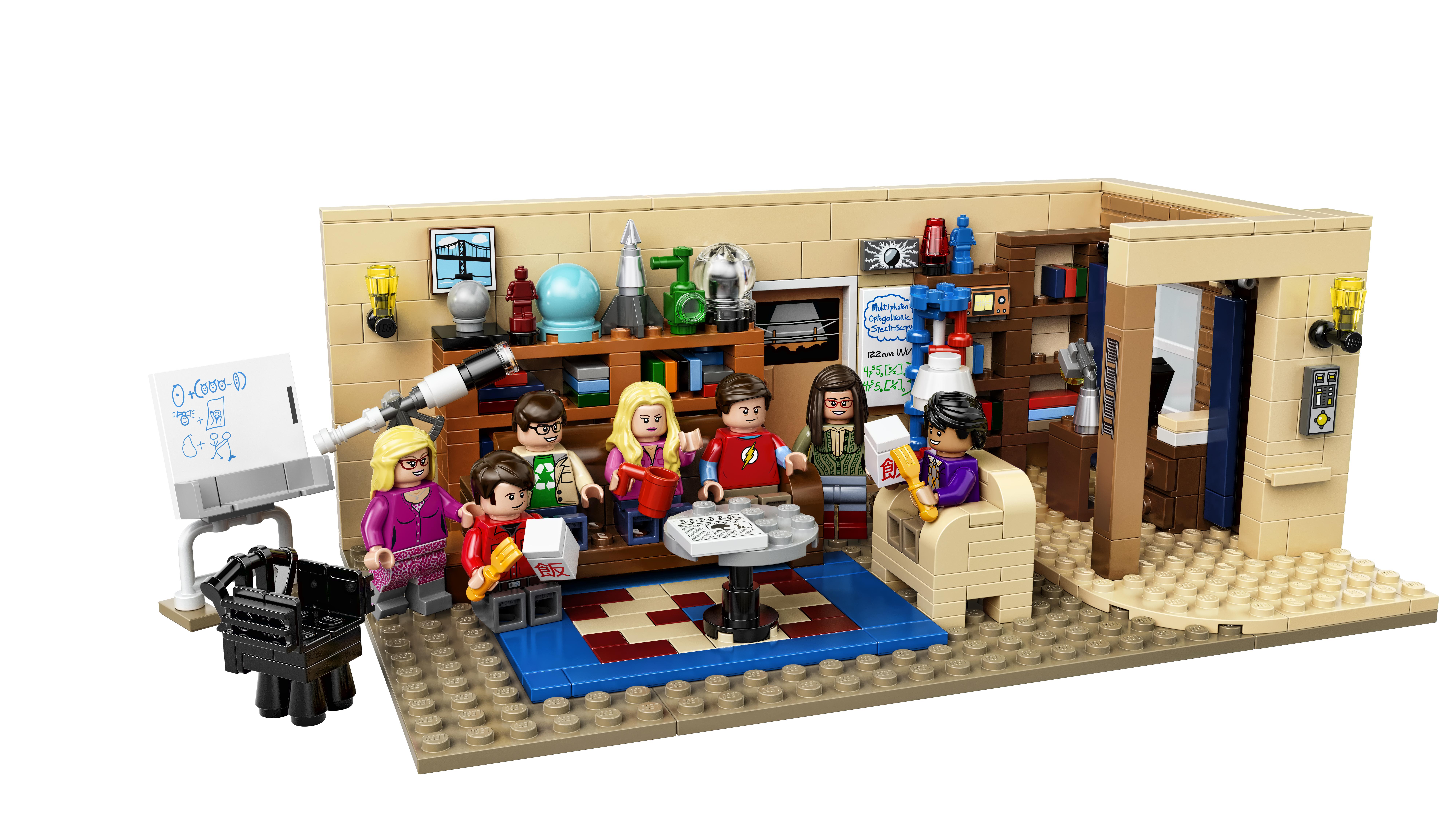 Here S The New Lego 21302 Big Bang Theory Set Jay S Brick Blog