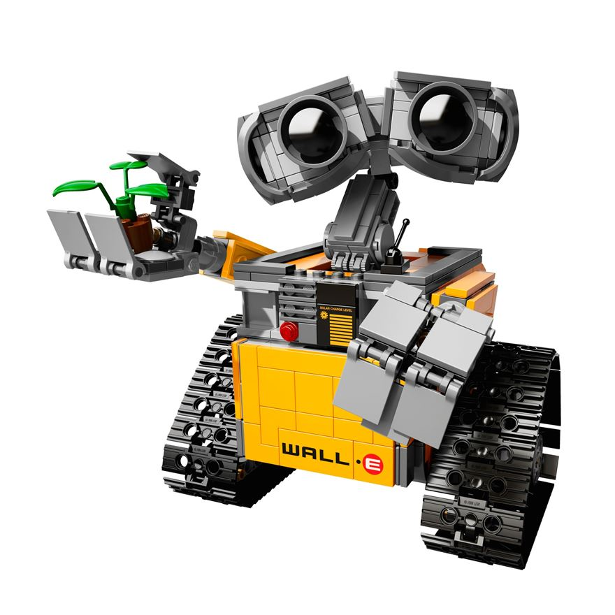 your first look at the adorable lego wall e set. Black Bedroom Furniture Sets. Home Design Ideas