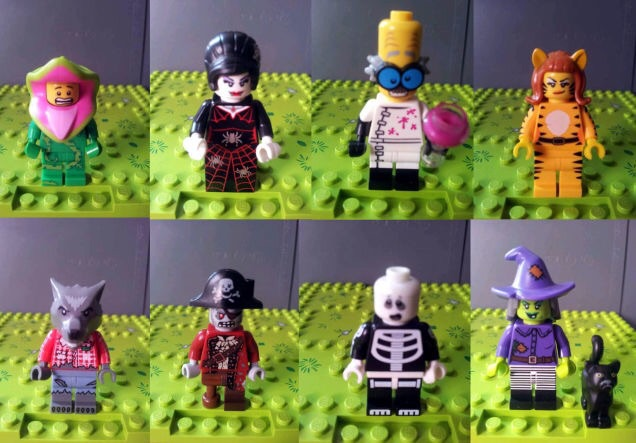 Leaked LEGO Series 14 Minifigs