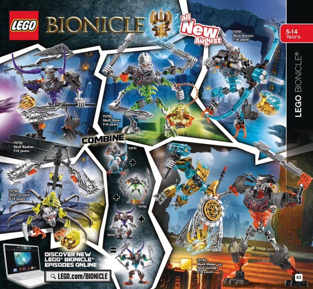 New Bionicle 2015