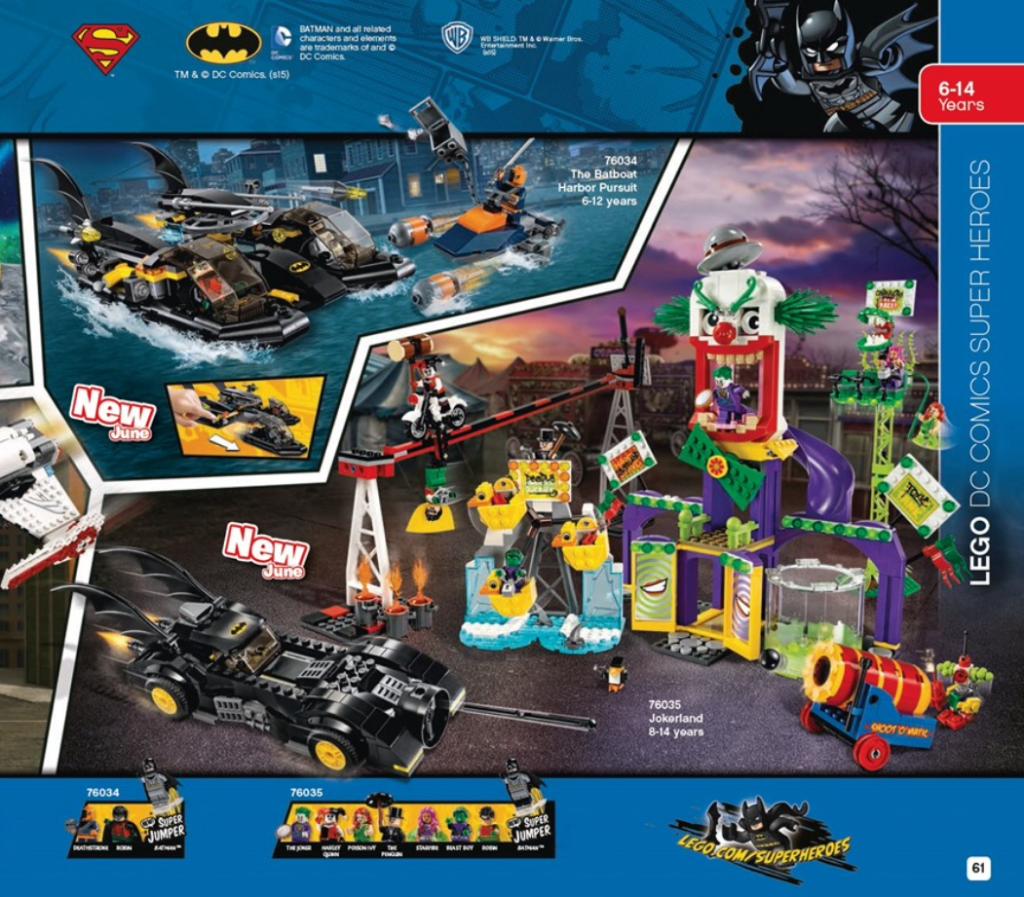 New LEGO DC 2015
