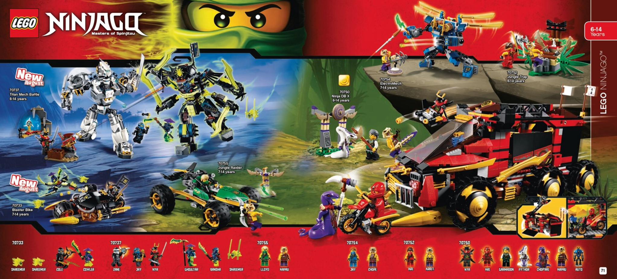 Australian LEGO Release Dates for
