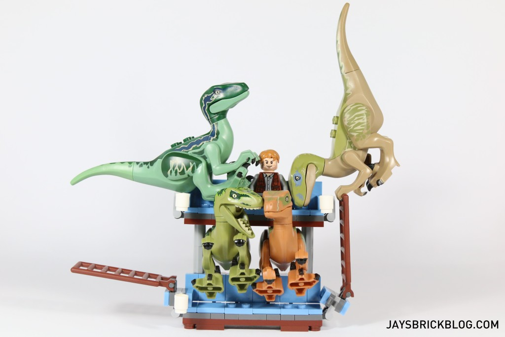 Owen and his Velociraptor Buddies on Double Decker Couch