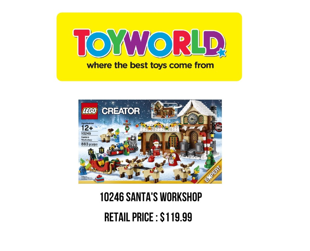 Toyworld Toy Sale 2015 Exclusives