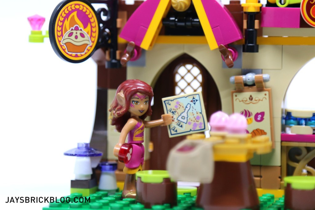 41074 Azari and the Magical Bakery - Map