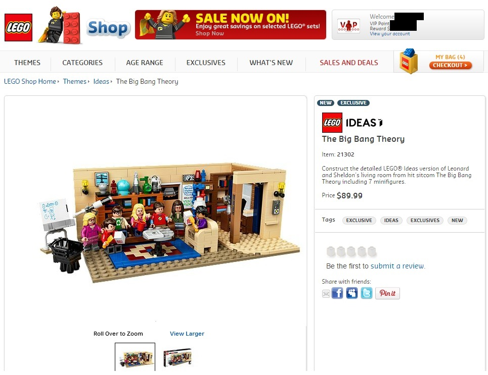 LEGO 21302 Big Bang Theory Australian Price