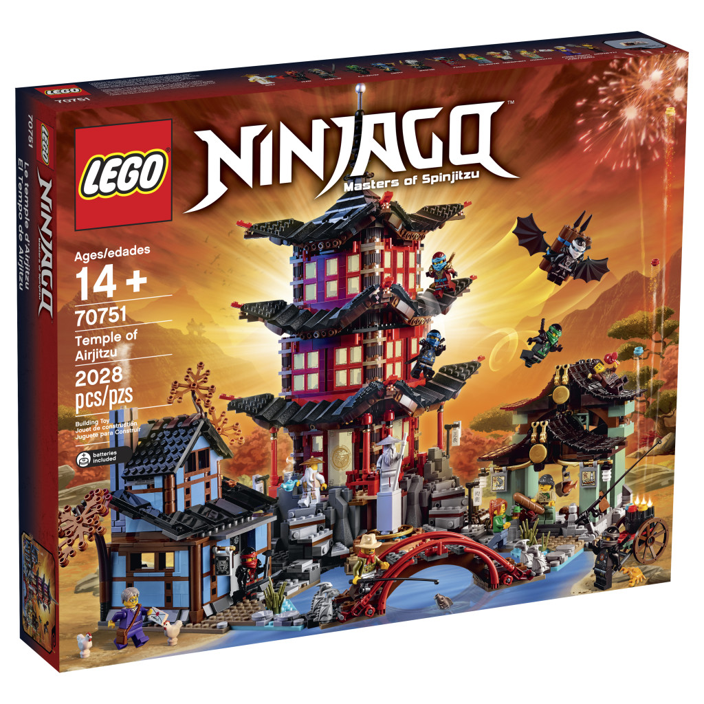 LEGO 70751 Ninjago Temple of Airjitzu Box
