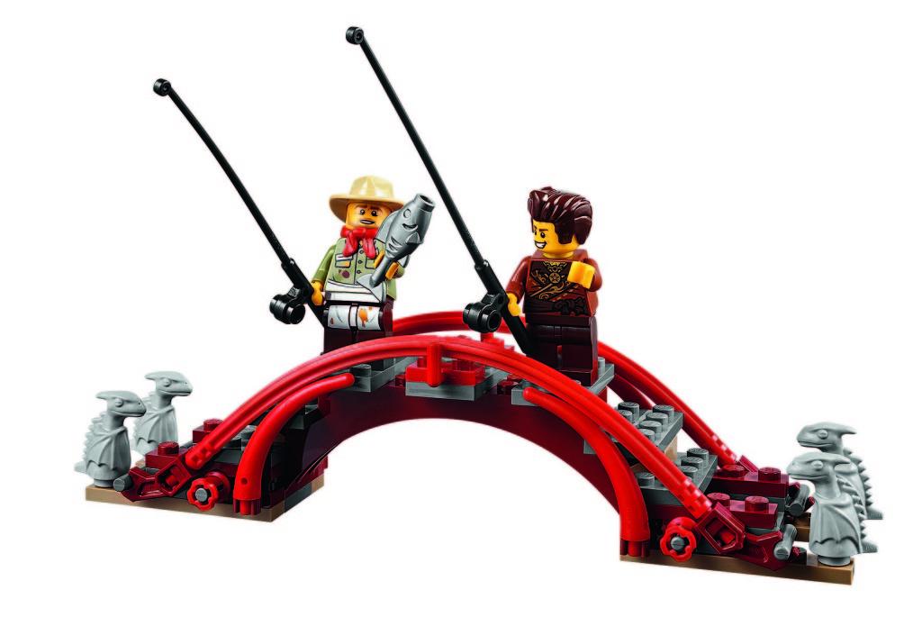 LEGO 70751 Ninjago Temple of Airjitzu - Bridge