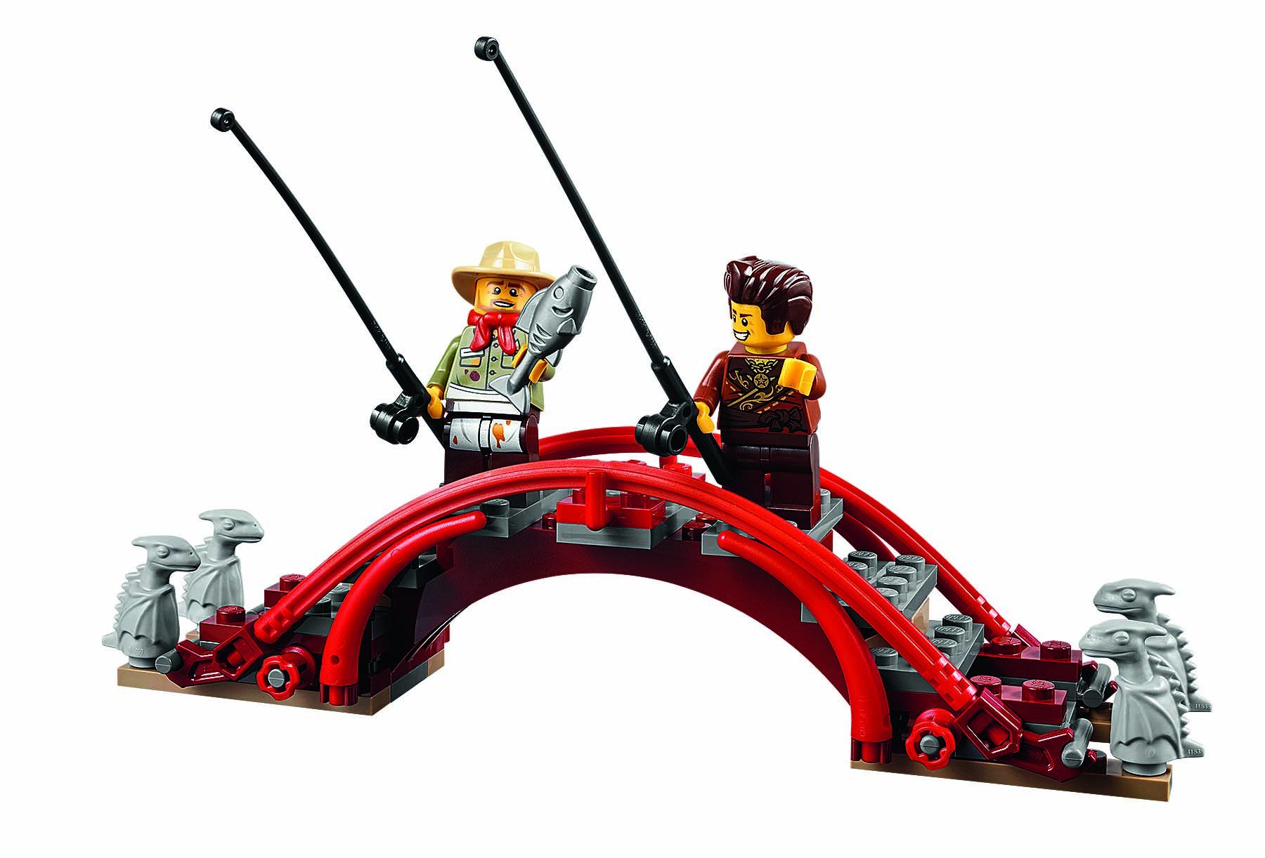 Lego Unveils Stunning Ninjago Temple Of Airjitzu Set