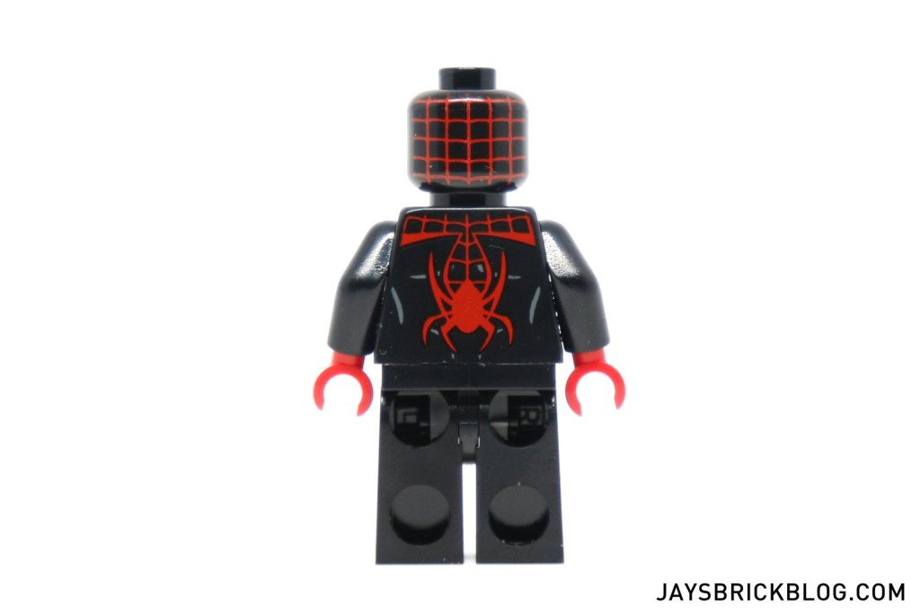LEGO 76036 Carnage SHIELD Sky Attack - Black Spider-Man Minifig Back