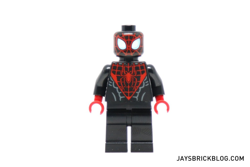 LEGO 76036 Carnage SHIELD Sky Attack - Black Spider-Man Minifig Miles Morales