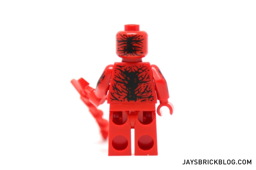 LEGO 76036 Carnage SHIELD Sky Attack - Carnage Minifig Back