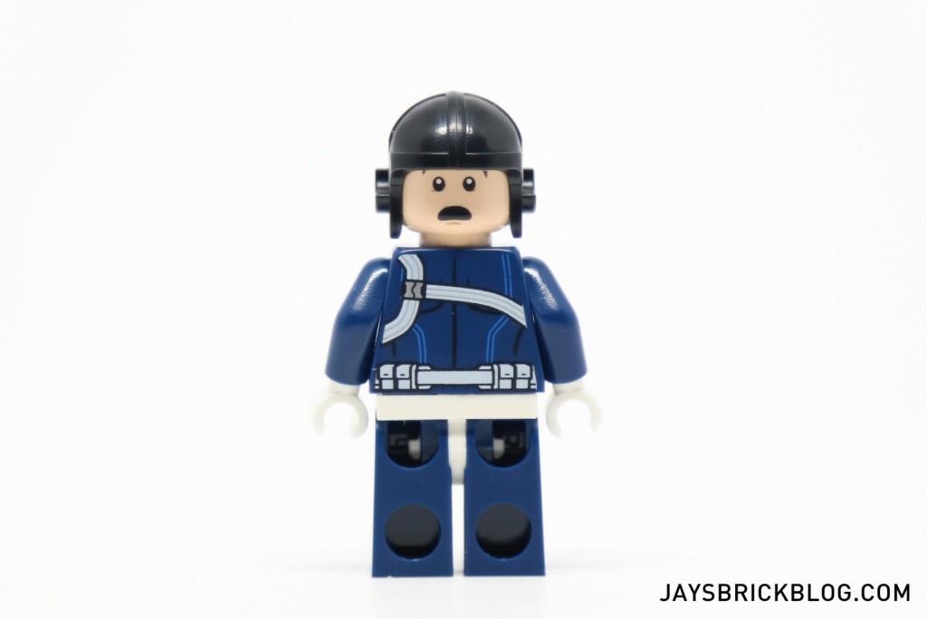 LEGO 76036 Carnage SHIELD Sky Attack - SHIELD Agent Alternate Face