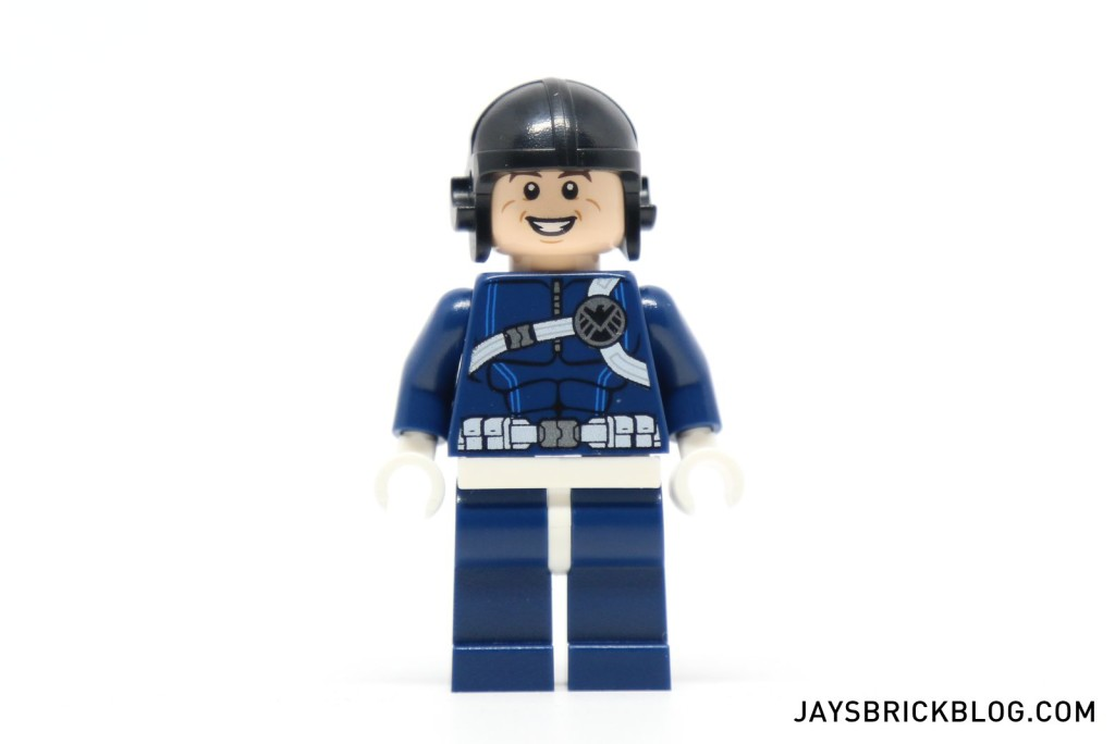 LEGO 76036 Carnage SHIELD Sky Attack - SHIELD Agent Minifigure