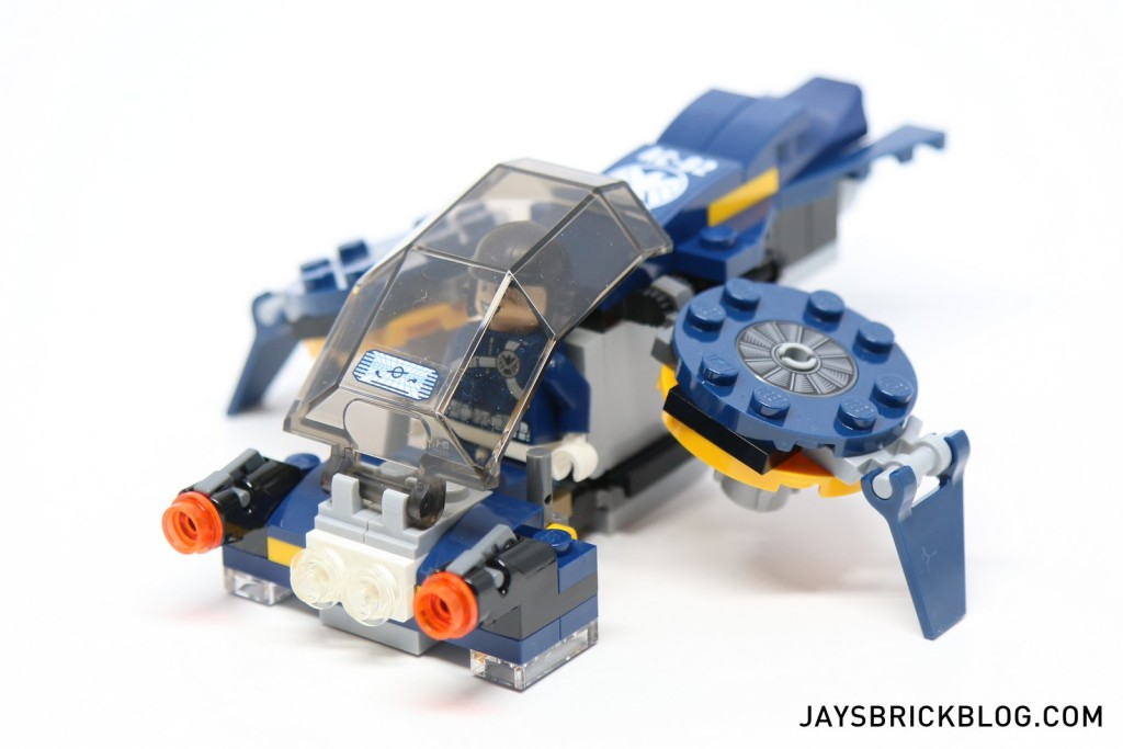 lego mini quinjet instructions