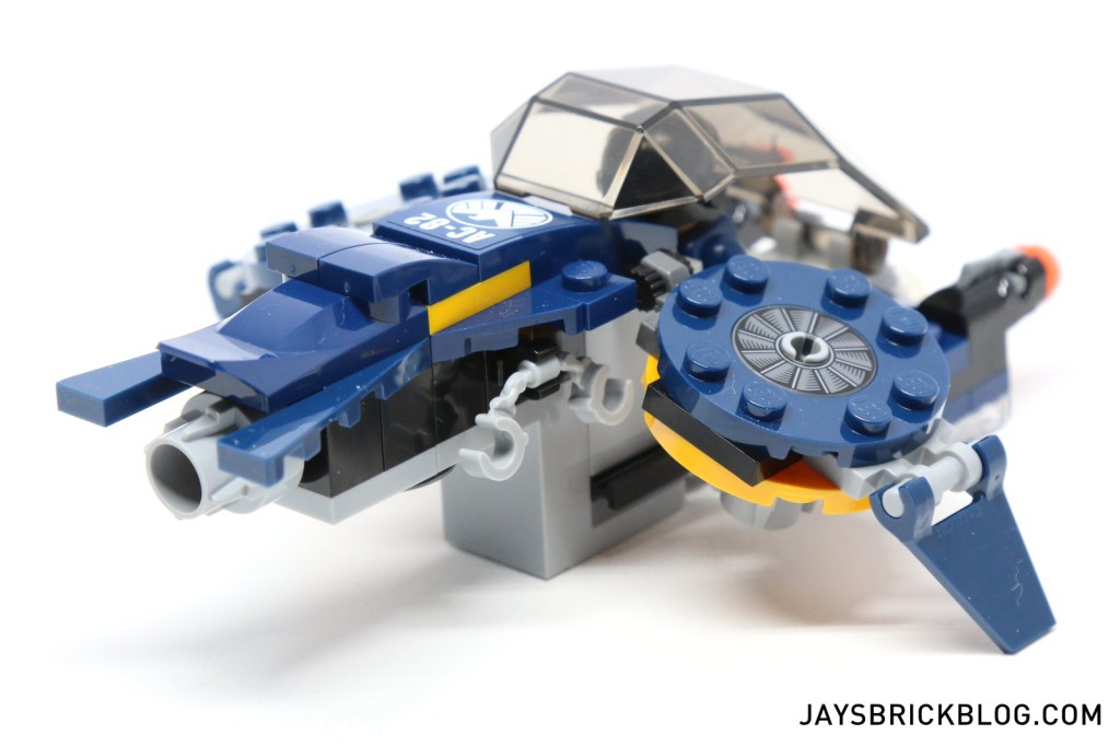 LEGO 76036 Carnage SHIELD Sky Attack - SHIELD Jet Back
