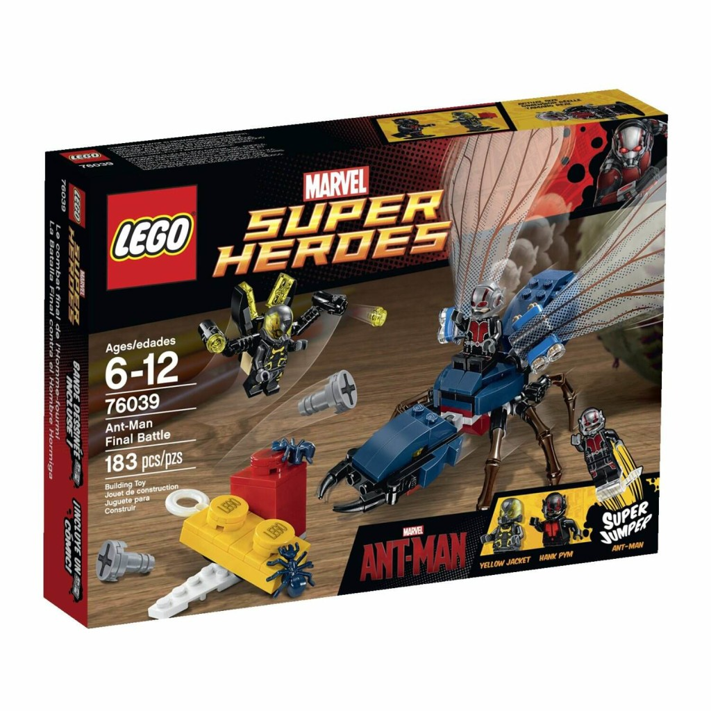 LEGO 76039 Ant-Man Final Battle Box
