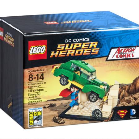 LEGO SDCC 2015 Action Comics 1 Superman Set