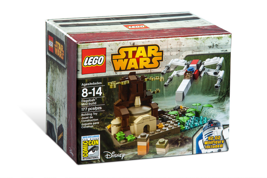 LEGO SDCC 2015 Star Wars Dagobah Mini Build