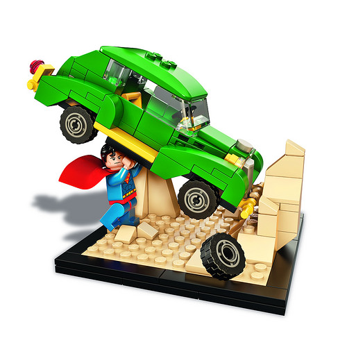 LEGO SDCC 2015 Superman Action Comics 1 Set
