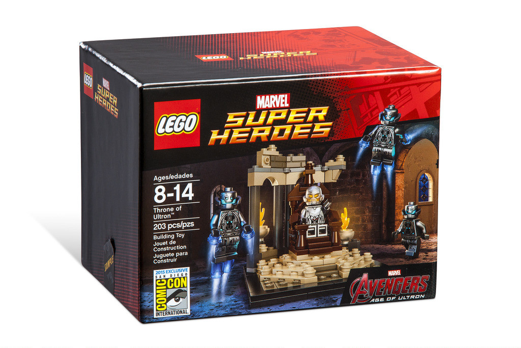 LEGO SDCC 2015 Throne of Ultron Set