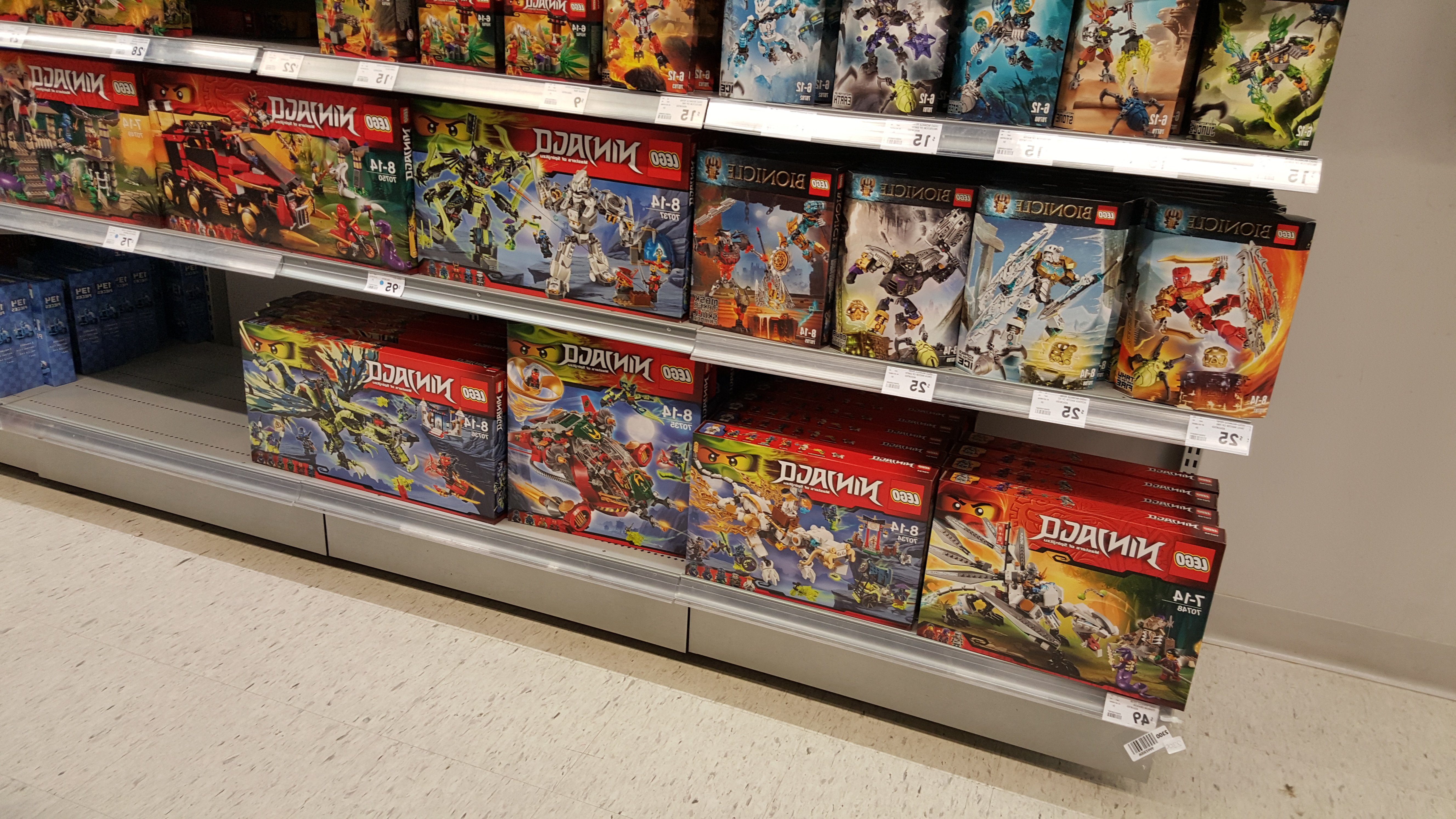 New LEGO City, Ninjago, Star Wars and Minecraft sets available at ...