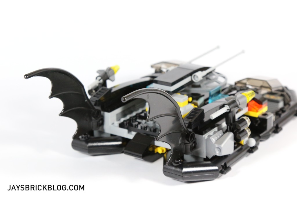 LEGO 76034 The Batboat Harbour Pursuit - Batboat Back View