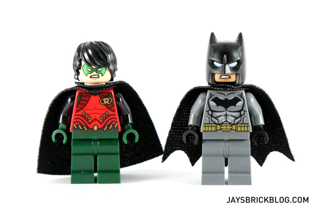 LEGO 76034 The Batboat Harbour Pursuit - Batman and Robin Minifigure