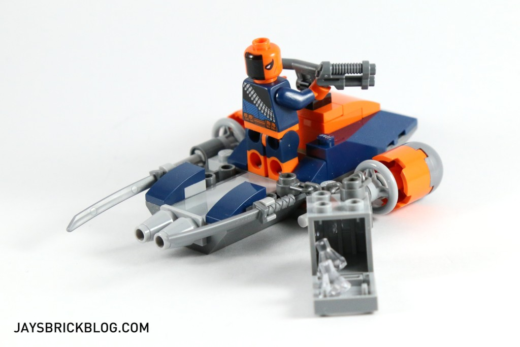 LEGO 76034 The Batboat Harbour Pursuit - Deathstroke Jet Ski Safe