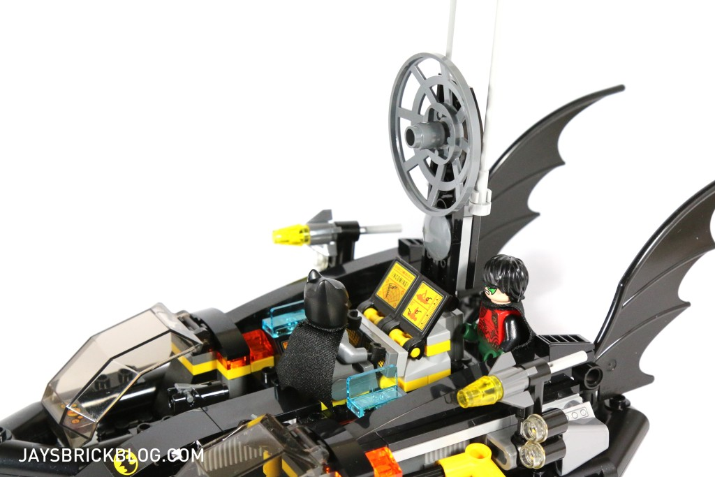 LEGO 76034 The Batboat Harbour Pursuit - Radar Array Batboat