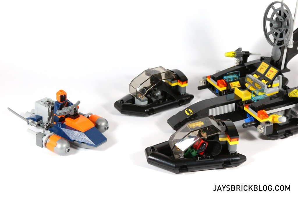 LEGO 76034 The Batboat Harbour Pursuit - Released Boat Pods