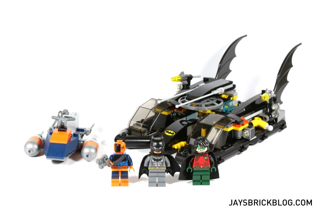Review: LEGO 76034 The Batboat Harbour Pursuit