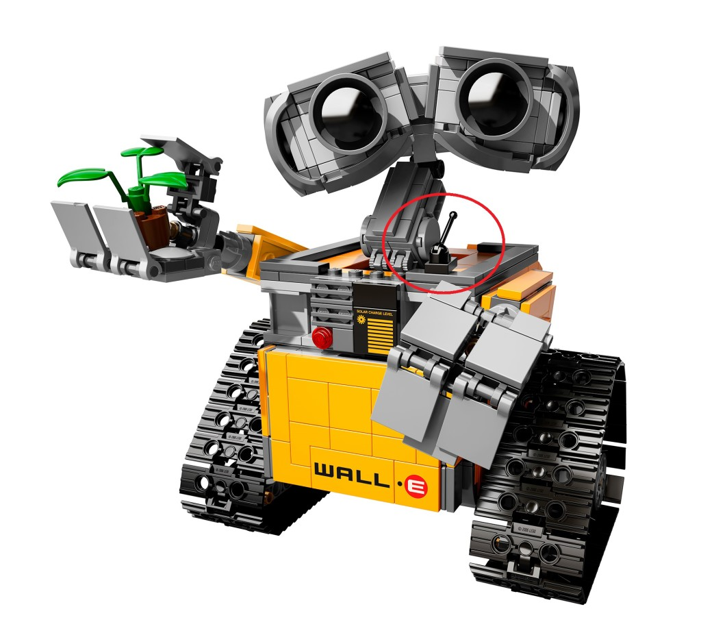 LEGO Ideas Wall-E 21303 Cockroach