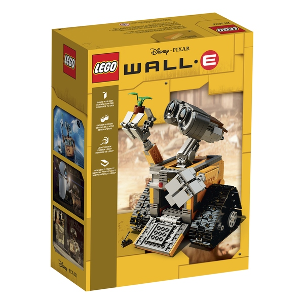 LEGO Wall-E 21303 Box Art Back
