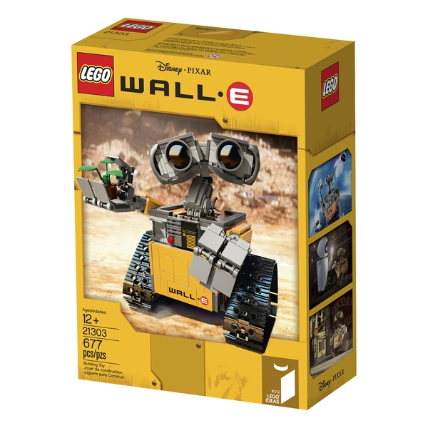LEGO Wall-E 21303 Box Art