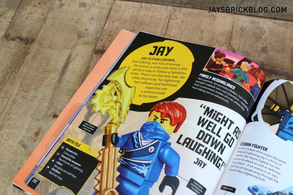 Ninjago Secret World of the Ninja - Jay