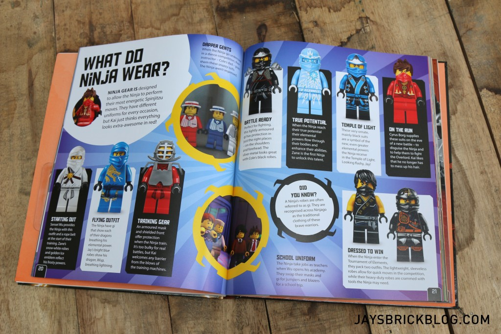 Ninjago Secret World of the Ninja - Ninja Fashion