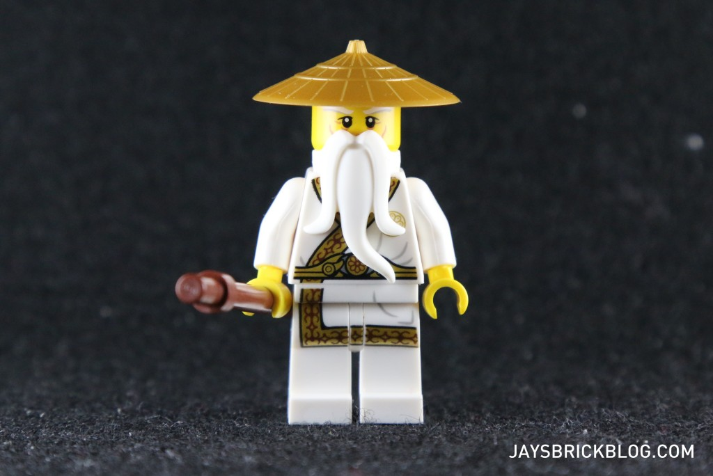 Ninjago Secret World of the Ninja - Sensei Wu Exclusive Minifig