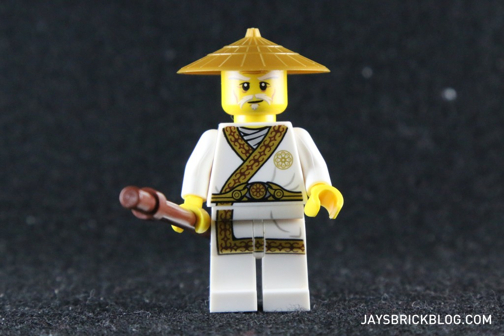 Ninjago Secret World of the Ninja - Sensei Wu without beard