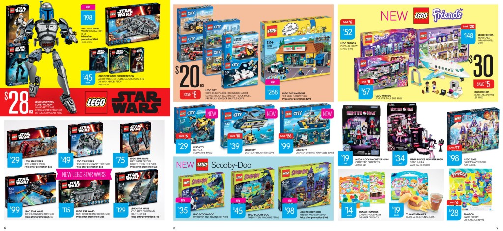Big W LEGO Catalogue Sale September 2015