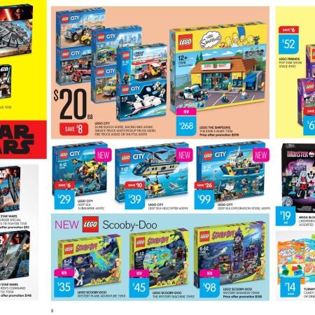 Big W LEGO Catalogue Sale September 2015