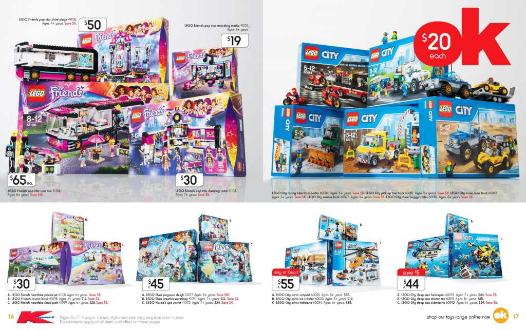 Kmart LEGO Catalogue Sale September 2015 1