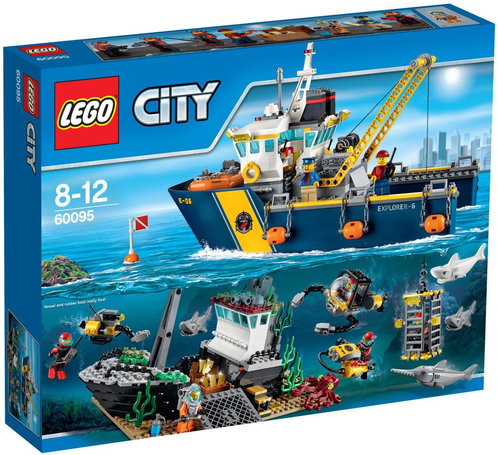 LEGO 60095 Deep Sea Exploration Vessel - Box Art