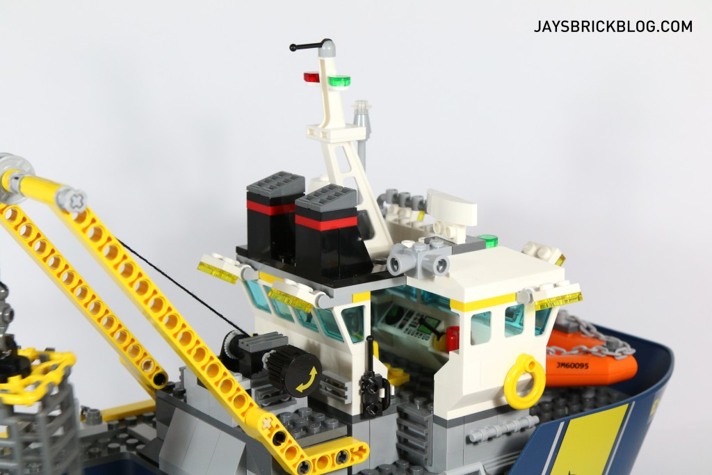 LEGO 60095 Deep Sea Exploration Vessel - Bridge