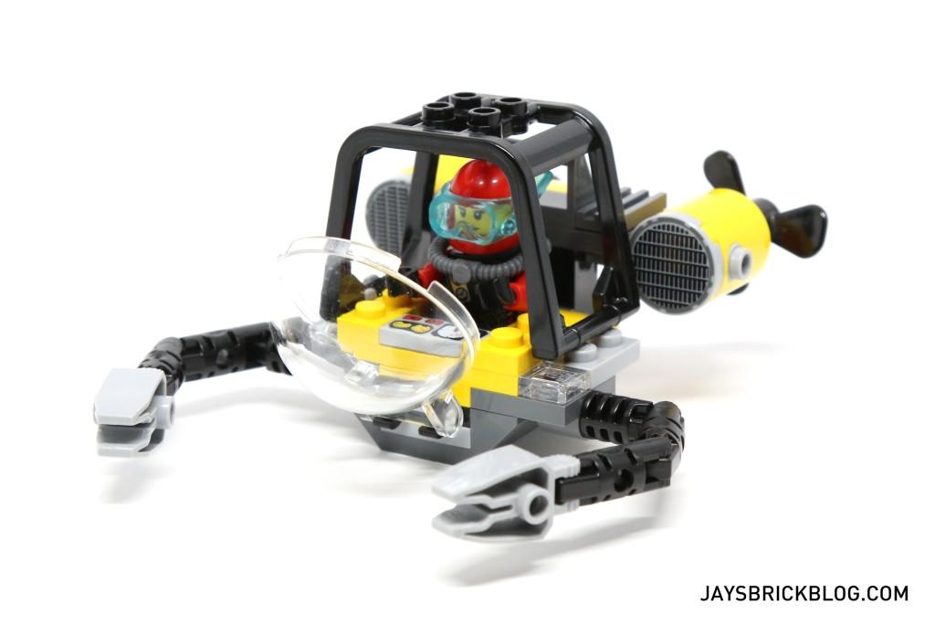 LEGO 60095 Deep Sea Exploration Vessel - Exploratory Submarine