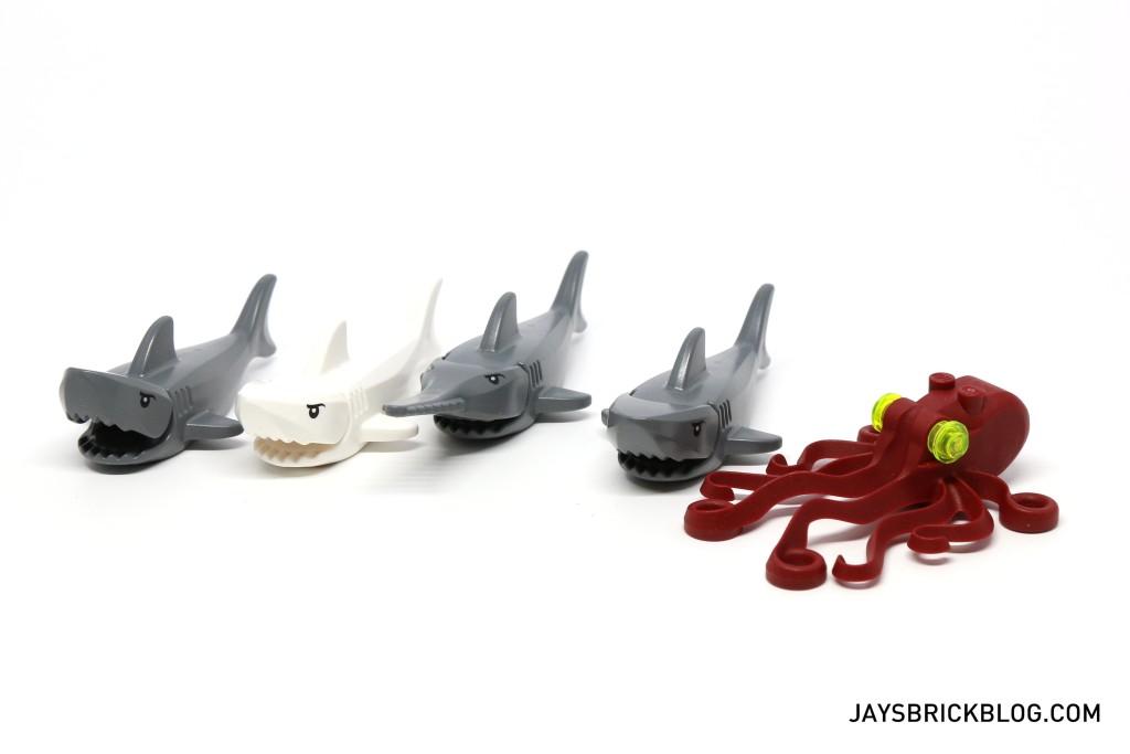 LEGO 60095 Deep Sea Exploration Vessel - Marine Animals