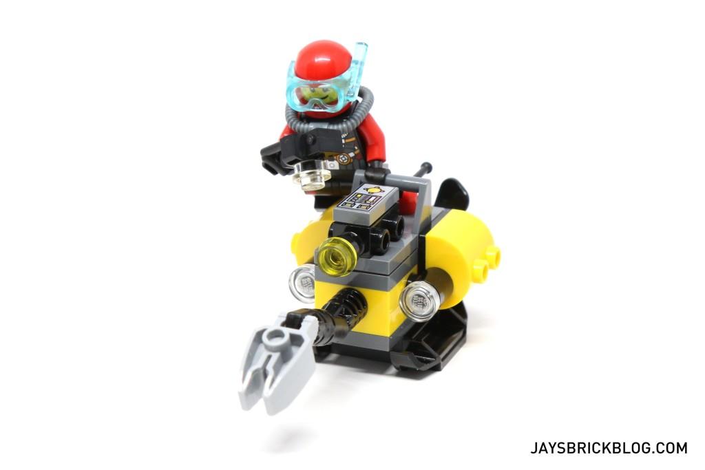 LEGO 60095 Deep Sea Exploration Vessel - Remote Sub