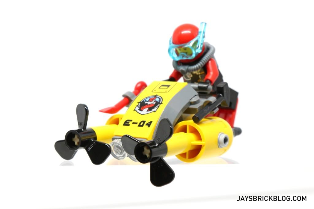 LEGO 60095 Deep Sea Exploration Vessel - Scuba Scooter