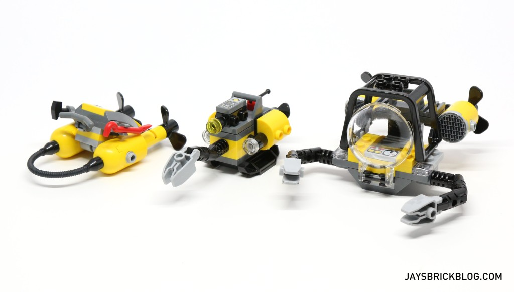 LEGO 60095 Deep Sea Exploration Vessel - Submersible Vehicles